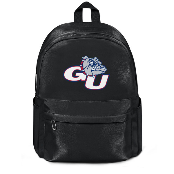 Package,backpack Gonzaga Bulldogs Basketball logo black cool personalizedpackage daily yoga athleticbackpack