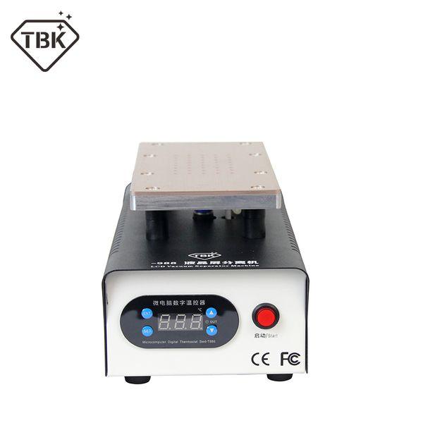 top popular TBK-988 Mini Build-in Double Pumps Vacuum LCD Separator Machine Screen Repair Machine 2020