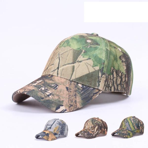 top popular Men And Women Snapback Cap Camo Sunshade Couple Baseball Hats Tourist Fishing Ball Hats For Climbing Camping Equipment 4 Colors ZZA1044 2021