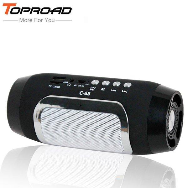 Altoparlanti Toproad Altoparlanti Bluetooth Colonna Colonne Per Computer Caixa De Som Supporto Tf Fm Radio Soundbar Altoparlante T190704