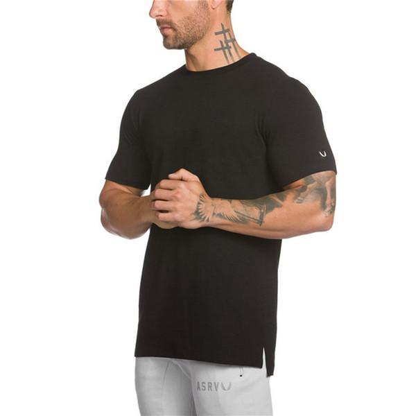 Mens Designer T ShirtMens Sports Fitness Short Sleeve Fashion Mens Summer Elastic Breathable Top High Quality Tees For Men