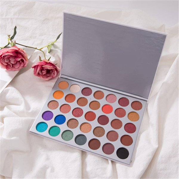35 colors eye shadow palette matte shimmer eye shadow makeup palette 35 colors cosmetic palette eye shadow dhl ing