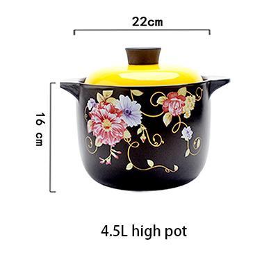 4.5L hohe Suppentopf