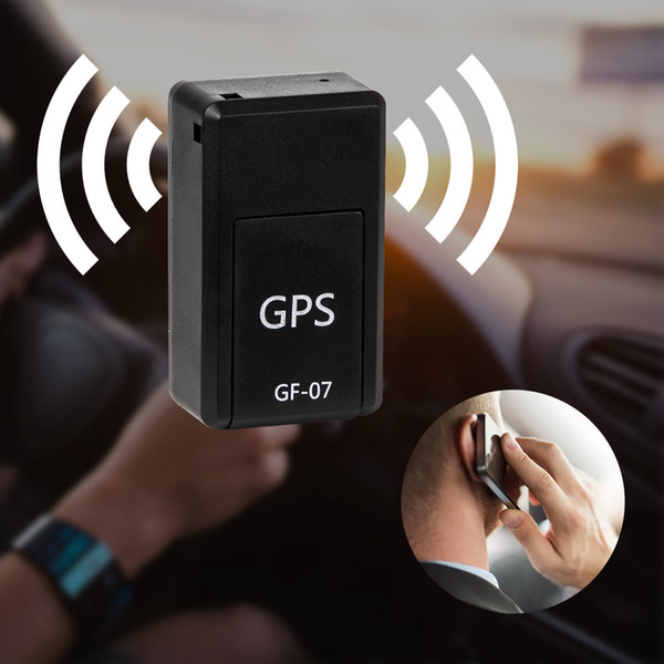 Mini GF-07 GPS traqueurs SOS dispositifs de repérage pour systèmes de localisateurs de localisateurs d'emplacement de voiture d'enfant de véhicule Mini GPS permanent magnétique