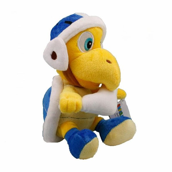 Super Mario Bros Koopa Boomerang Plush Toy 20cm Kids Collectible Soft Stuffed Animals Cartoon Games Toys for Children