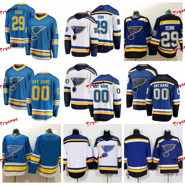 separation shoes 00343 2d688 2019 2019 St. Louis Blues Vince Dunn Stitched Jerseys Customize Alternate  Light Blue Shirts #29 Vince Dunn Hockey Jerseys S XXXL From Tryones, $36.65  ...