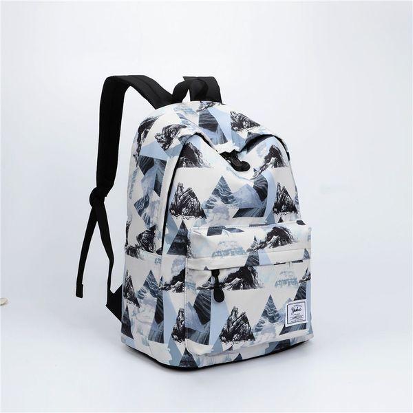 neuer Ankunftsstudentenrucksack für Jungen und Mädchen heißer Verkaufsqualitätssegeltuch-Schultasche Multiart Unisexrucksack
