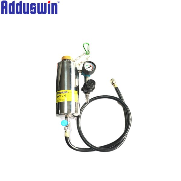 Injector Cleaner Tool Non-Dismantle Bottle Repair Tool With Pressure Gauge Universal Auto Car Gasoline Fuel System