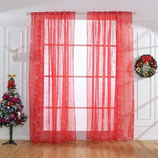 Blackout Sheer Curtains Butterfly Printed Window Curtain For Living Room  Bedroom Windows Drapes Jacquard Tulle Curtains Burgundy Curtains Electric  ...