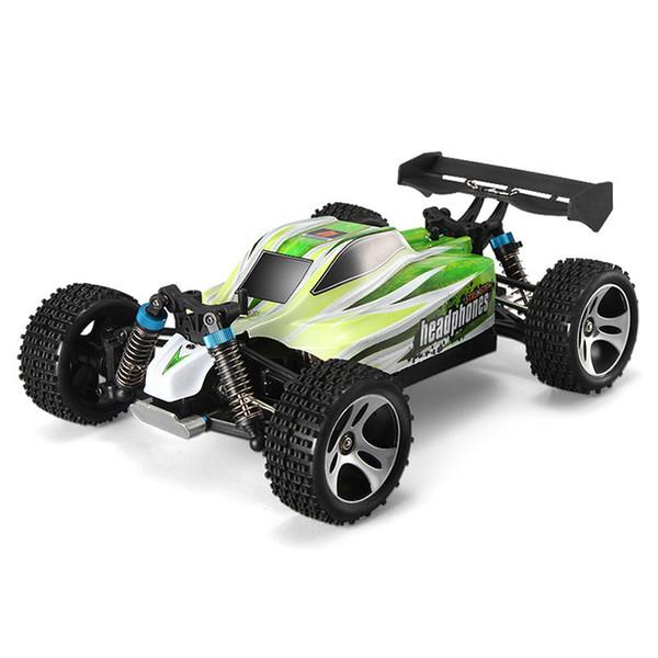 A959 - B 1/18 70km / H 4WD Vehículo todo terreno 2.4G 540 Cepillado Motor de alta velocidad RC Juguetes de control remoto para niños y adultos