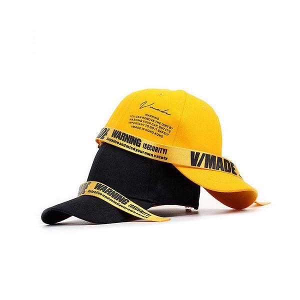 Long strap English print spring baseball cap men and summer female British fashion male hood SnapBack hip hop cap casquette