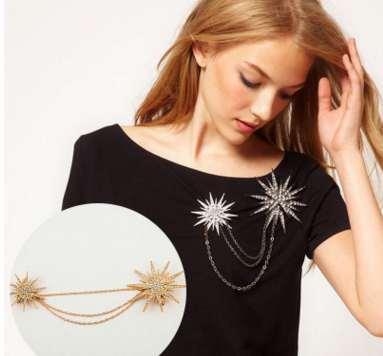 Hommes Femmes vintage broche cristal bijoux mode broche pour la fête Top Quality New Arrival