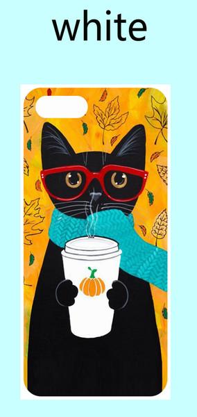 Trinkkaffee katze weiches tpu gummi silikon telefon case für iphone 5 se 6 6 plus 7 7 plus 8 8 plus x xs xsmax xr