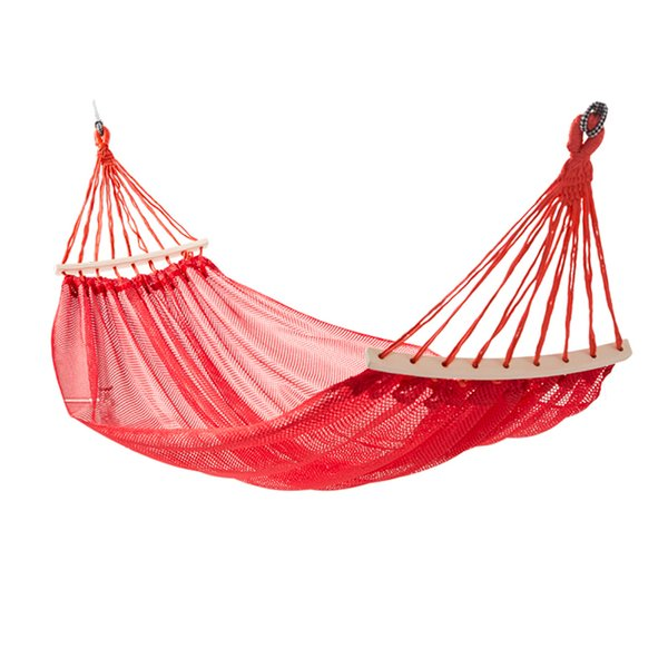 Leisure Travel Hammock Camping Hammock Outdoor Furniture Garden Swing Chair Hunting Hanging Bed Dormitory Soft Bed Anti-Turn