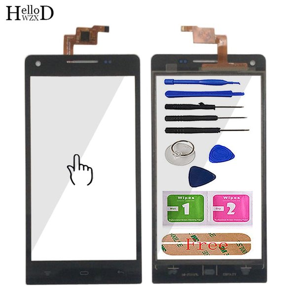 4.7'' Mobile Touch Screen Panel For Cubot P7 Touch Screen TouchScreen Digitizer Panel Lens Sensor Front Glass Tools Adhesive