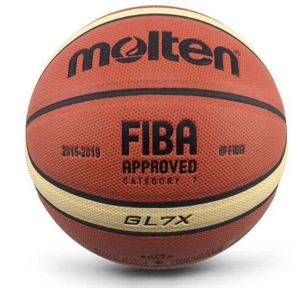 top popular Official Molten Basketball Ball Outdoor Indoor Size 7 6 5 PU Leather Basketball A+++ Quality Basketball basquete Basketbol 2021