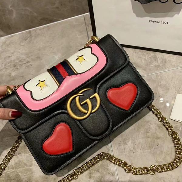 Vente chaude femmes sacs à main designer de luxe bandoulière messenger sacs à bandoulière chaîne sac de bonne qualité PU sacs à main en cuir sac à main dames