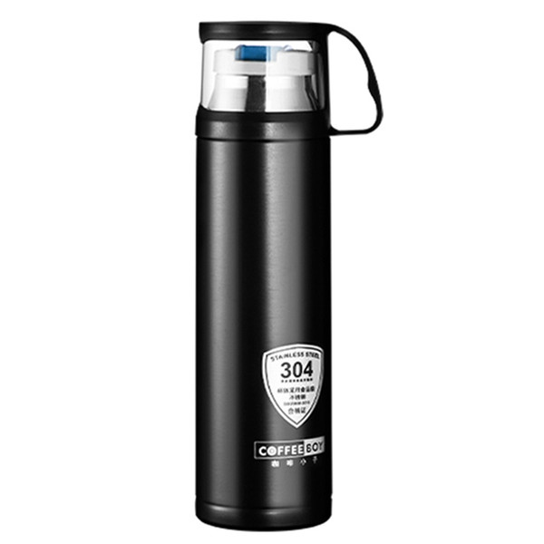 Coffee Boy Portable 500Ml Thermo Bottle Vacuum Flask For 304 Stainless Steel Thermo Mug Thermoses Cup