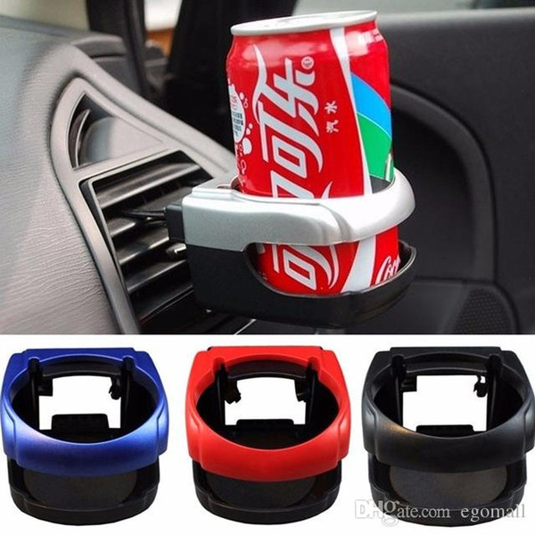 Clip-on Auto Car Truck Vehicle Air Condition Vent Outlet Can Drinking Water Bottle Coffee Cup Mount Stand Holder Accessories