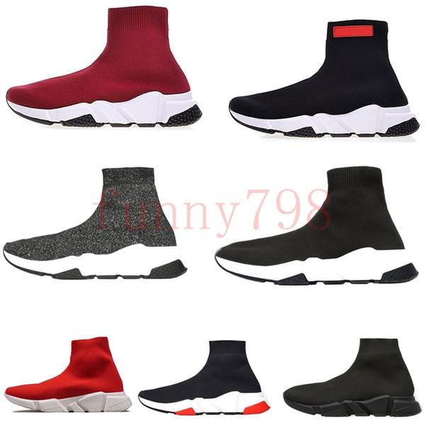 mit box 2019 besten luxus designer männer welle runner frauen casual turnschuhe socken herren chaussures scarpe zapatos femmes speed trainer schuhe