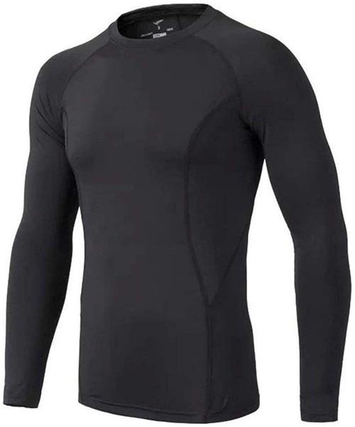best selling Kids' Boys Long Sleeve Athletic Base Layer Compression Underwear Baseball Soccer Shirt