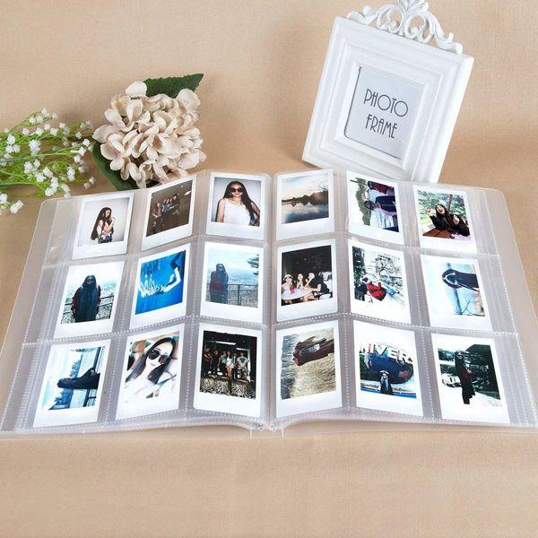 288 Pockets Transparent Mini Film Photo Album for Fujifilm Instax Mini 9 8 7s 25 70 90 Camera Film Ticket Name Card Holder SH190910