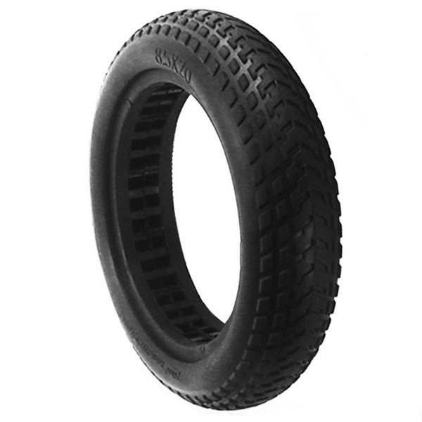 Scooter Damping creux des pneus solides pour Mijia M365 Planche à roulettes Scooter des pneus 8,5 pouces pneu roue non pneumatique en caoutchouc des pneus Sc