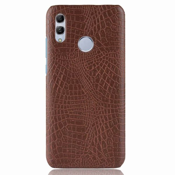 Luxury Crocodile pattern PU Leather Hard Case For Huawei P Smart 2019 Back cover For Coque Huawei P Smart 2019 Phone cases