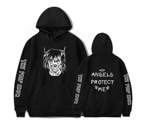 Hip Hop Rapper Lil Peep Sweatshirt Streetwear Hoodie Men Women Hoodies 2019 New Pullover Men Long Sleeve Oversized shirt 4XL