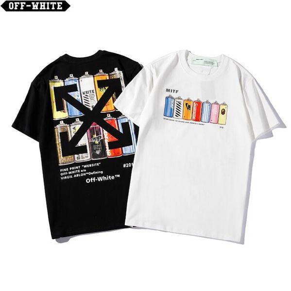 2019 Herrenbekleidung Damenbekleidung Sommer Neue Artikel Mode Druck Brief T-Shirt mit kurzen Ärmeln T-Shirts