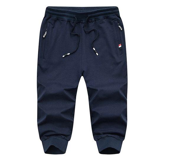 2019 Free fashion new wholesale Mens Casual capri pants cargos shorts /Mens sport shorts /mens Middle pants