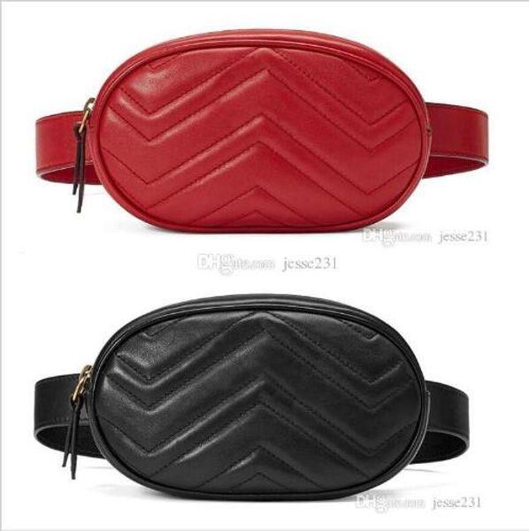best selling Wholesale New Fashion Pu Leather Brand Handbags Women Bags Designer Fanny Packs Famous Waist Bags Handbag Lady Belt Chest bag 4 colors