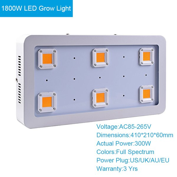 1800W LED crecen la luz
