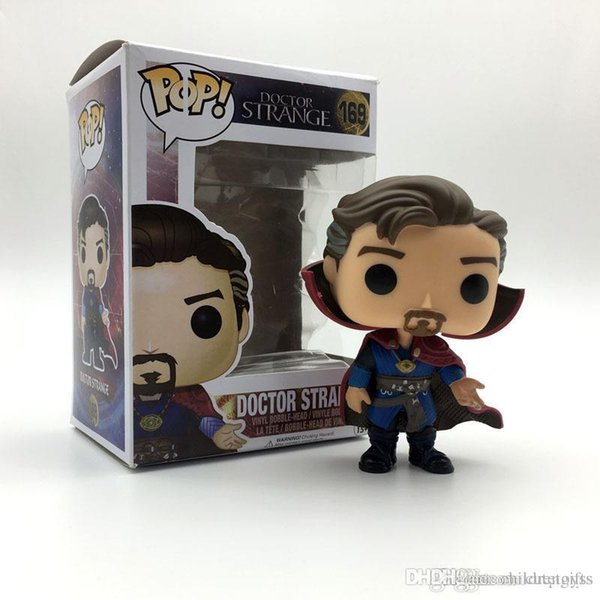 Pretty WHOLESALE Funko Pop Doctor Strange Vinyl Action Figure With Box Popular Gift Toy Doll Good Quality