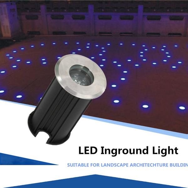 JML LED Lights 1W Underground Lamp 12V IP68 Waterproof LED Ground Lights 42mm Underwater Lights Cheap LED Light