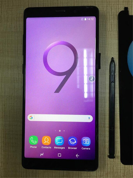 Goophone 9 plus N9 Octa Core Fingerprint MTK6592 shown 4G LTE 6.2inch Android 7.0 Smartphones 128GB ROM Cell phone