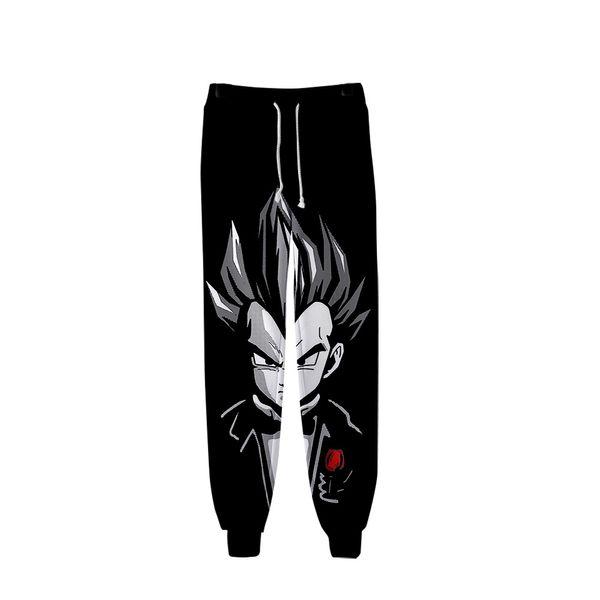 New pants Goku anime 3D printing cartoon pants men's sports casual Harajuku hip hop feet