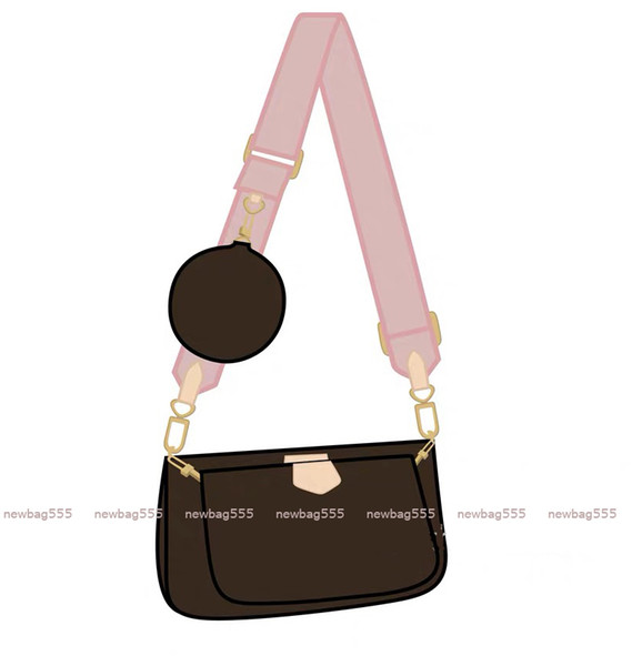 with Pink strap