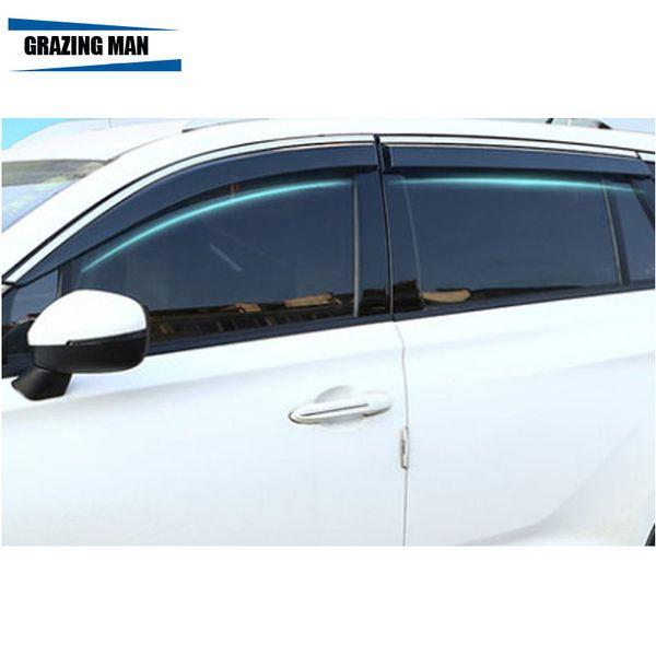 L'alta qualità auto materiale ABS finestra visiera frangivento dom Pioggia Guardia Defletor per CIVIC 2006