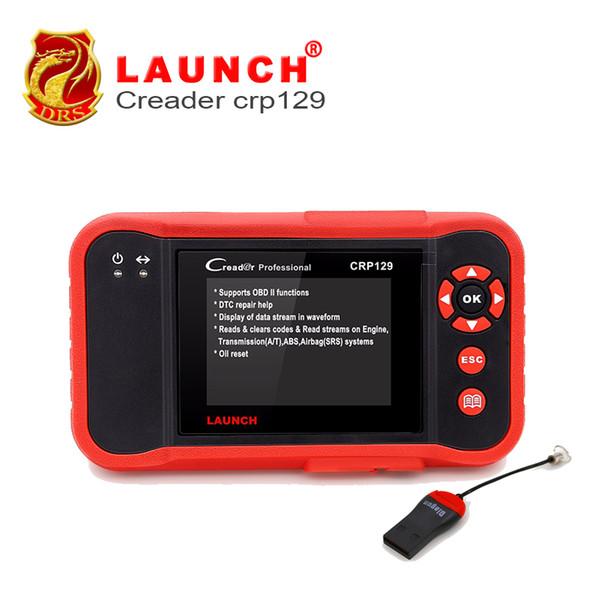 Original Launch X431 Creader CRP129 herramienta de diagnóstico ENG / AT / ABS / SRS EPB SAS Servicio de aceite Herramienta de diagnóstico de luz Herramienta de escáner de coche