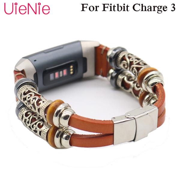 Bracelet de forme unique pour bracelet de remplacement frontière / classique Fitbit Charge 3 pour accessoires de bracelet de montre intelligents Fitbit Charge 3