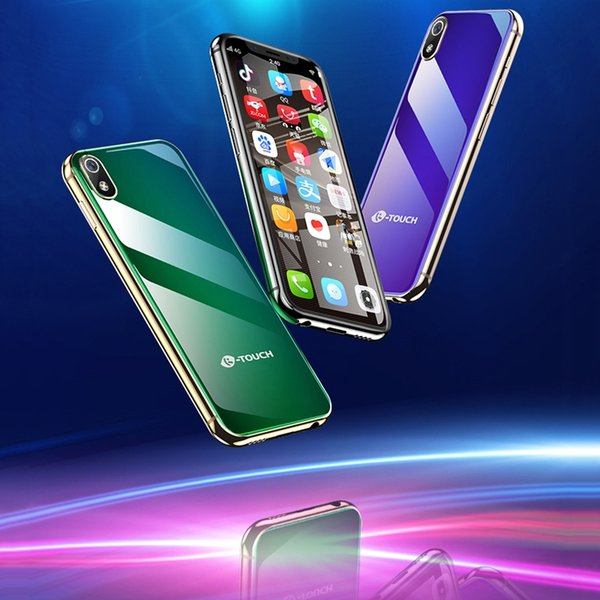 Super Mini Mobile phone K-TOUCH I9 Android 8.1 3GB 32GB Luxury Metal Frame Telefone Face ID WiFi 2GB 16GB Student 4G Smartphone