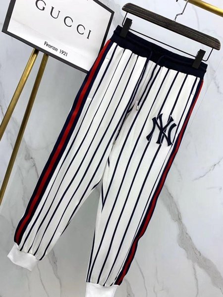 World popular culture Yoga sports pants for womens loose mosaic printing contrast color Korean beach trousers