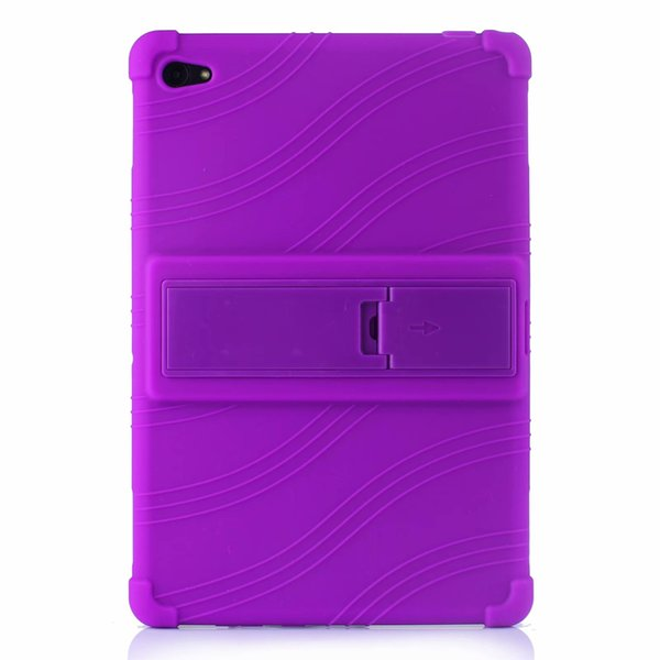 50pcs Soft Silicon TPU Back Cover Case Stand for Huawei MediaPad C5 10 BZT-W09 BZT-AL00 10.1 inch Tablet