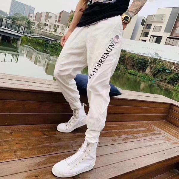 Pantalons Pantalons décontractés Pantalons de survêtement, pantalons de survêtement, design pour hommes Taille confortable M-2XL Lettre style w5