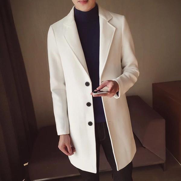 Sie Großhandel 2019 im Mantelwolle Rot Kaufen Koreanische erCxBod