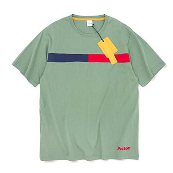 Lettre T-shirt brodé 2019 mode été hommes urbains t-shirt en coton t-shirt manches courtes Harajuku High Street tee