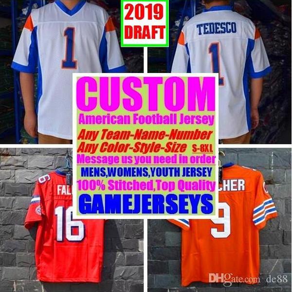 Camisas de futebol americano personalizado Philadelphia eua faculdade autêntica retro rugby futebol basquete hóquei de basquete jersey 4xl 6xl 8xl smith