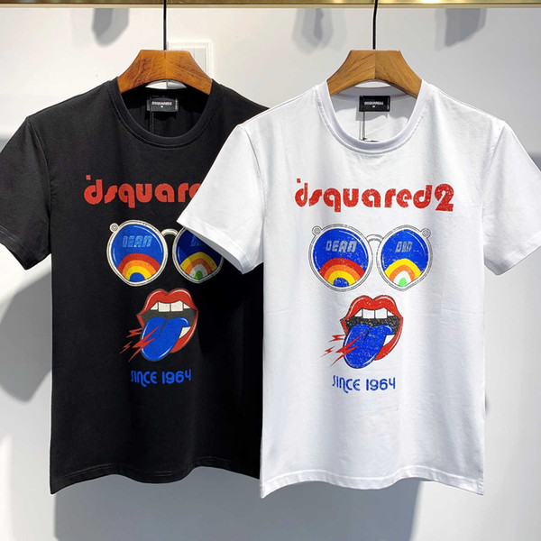 Pop Top Quality And Fashion Design Men And Women T Shirt Pure Cotton And Short Sleeves T Shirt Best Quality Size M-3XL Exquisite Printing