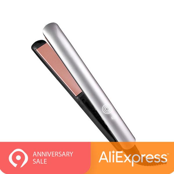 YOHOLOO Hair Iron Keratin Therapie Ion Haarglätter und Keramikplatten Glätteisen mit digitaler Hochtemperatur 450F